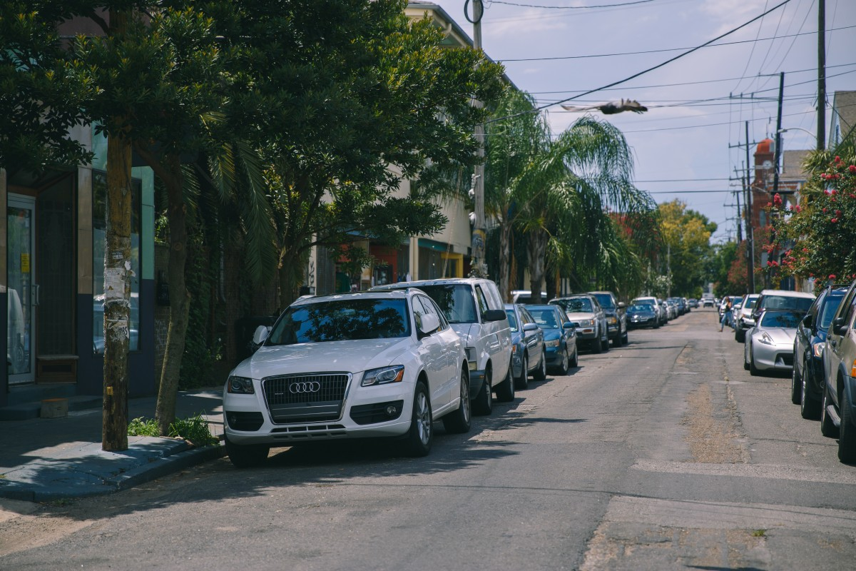 Specifications of street parking in USA